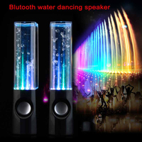 Newest Bluetooth Water Dance Speaker Music Fountain Crystal Colorful USB Spray LED Light Subwoofer Audio Box