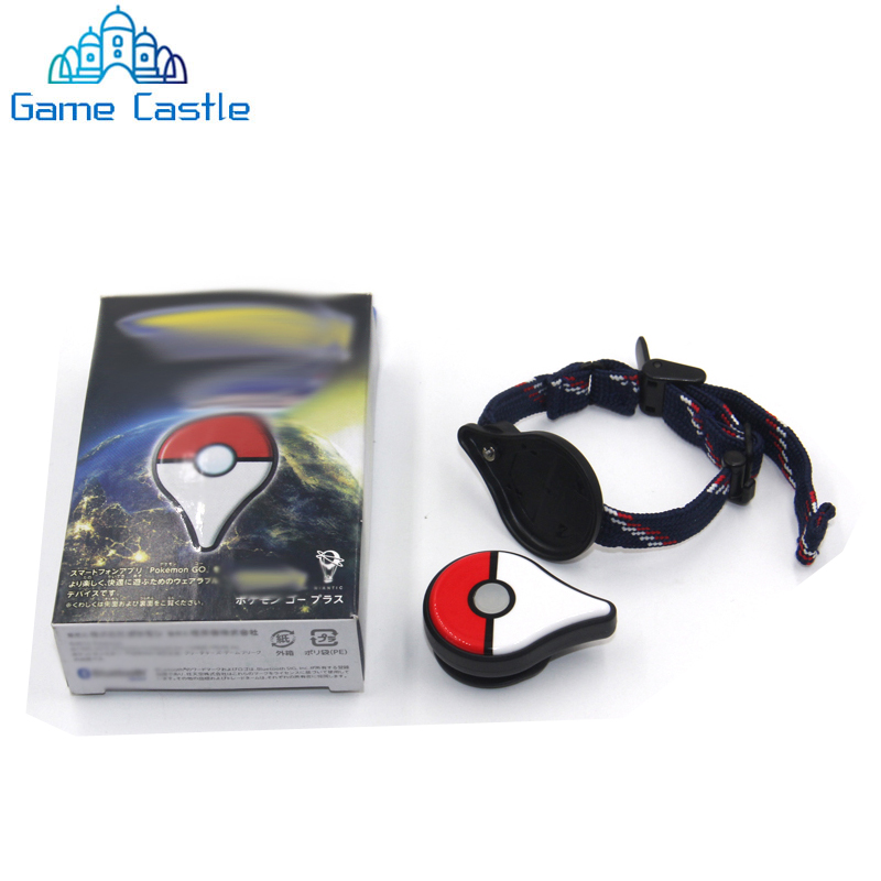 For Pokemon Go Plus Bluetooth Bracelet Interactive Figure Toys For Ios Android Phones For Pokemon Go Plus Wrist Band Pulseira