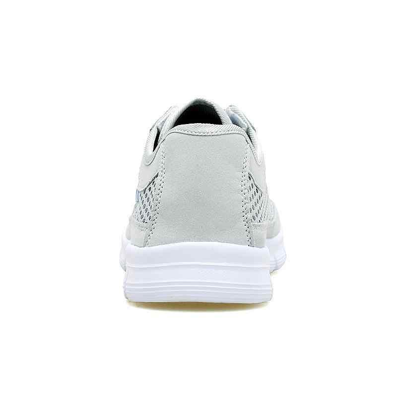 ROEGRE Мужская обувь 2018 летние кроссовки дышащие повседневные туфли модные удобные на шнуровке обувь для мужчин большие размеры 38-48