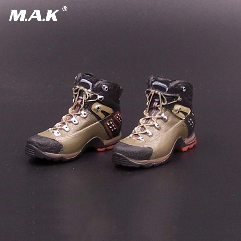 1/6 Scale American Seal Hiking Shoes Mountaineering Boots Sport Shoes Empty Inside For 12 Inch Male Soldier Body Figure