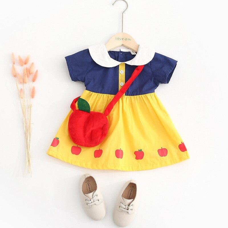 2019 Baby Girl Short Sleeve Dress Cute Princess Dress Do Not Send Bags2019 Baby Girl Short Sleeve Dress Cute Princess Dress Do Not Send Bags