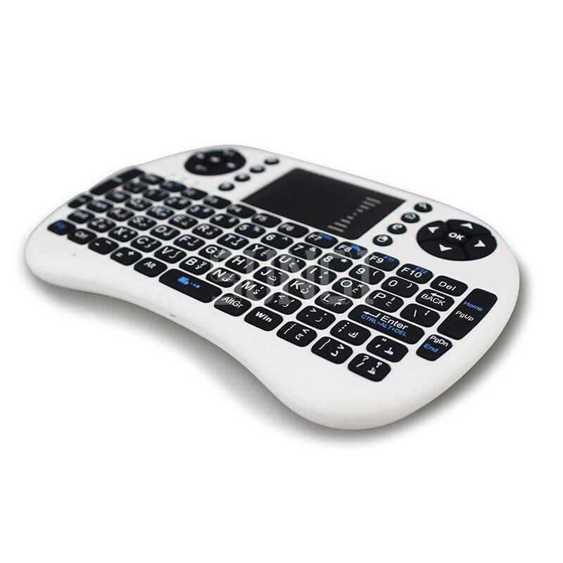Araabia keel Layout-klaviatuur 2.4G i8 + traadita mini-klaviatuur - Arvuti välisseadmed - Foto 4