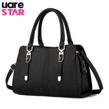 Luxus-handtaschenfrauen-designer 2017 Berühmte Marken Büro Dame Messenger Bags Leder Qualität Umhängetasche Bolsos Mujer