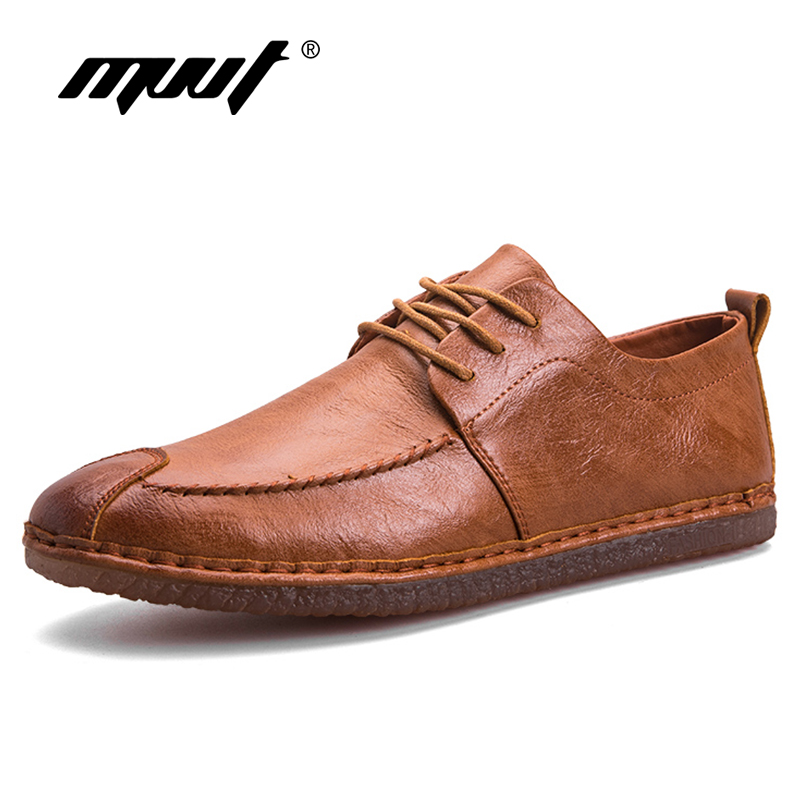 2018 Spring Genuine Leather Men Shoes Comfort Casual Shoes Lace Up Men Loafers Men Flats Shoes Hot Sale Moccasins Shoes hot sale genuine leather men casual shoes black brown men flats handmade men father shoes lace up men shoes dropship