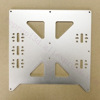 Aluminum Y Carriage Anodized Plate Upgrade V2 for Prusa i3 RepRap DIY 3D Printer parts accessories Fast Ship