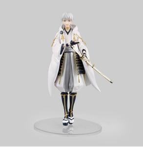 Image 2 - Figurine danime japonais Touken Ranbu en ligne Mikazuki Munechika/Tsurumaru Kuninaga/Nakigitsune figurine modèle jouets