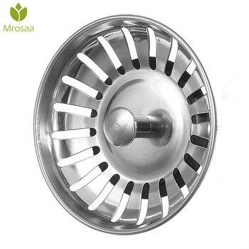 1 Pcs Mrosaa SS Küche Waschbecken Sieb Stopper Abfall Stecker Waschbecken Filter Desodorierung Typ Becken Waschbecken Ablauf Bad Zubehör