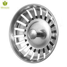 1 Pcs Mrosaa SS Kitchen Sink Strainer Stopper Waste Plug Sink Filter Deodorization Type Basin Sink Drain Bathroom Accessories(China)