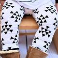 2 pçs/set Calças dos Meninos Das Meninas Do Bebê Crianças Roupas de Algodão Do Bebê Calças Compridas Calças Do Bebê Da Menina + chapéu Do Bebê Das Meninas Dos Meninos roupas RA5-13H