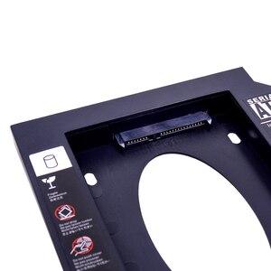 Универсальный Переходник CHIPAL из пластика для установки второго жесткого диска 12,7 мм SATA 3,0 для 2,5-дюймового твердотельного жесткого диска корпус для ноутбука необычный DVD/детской