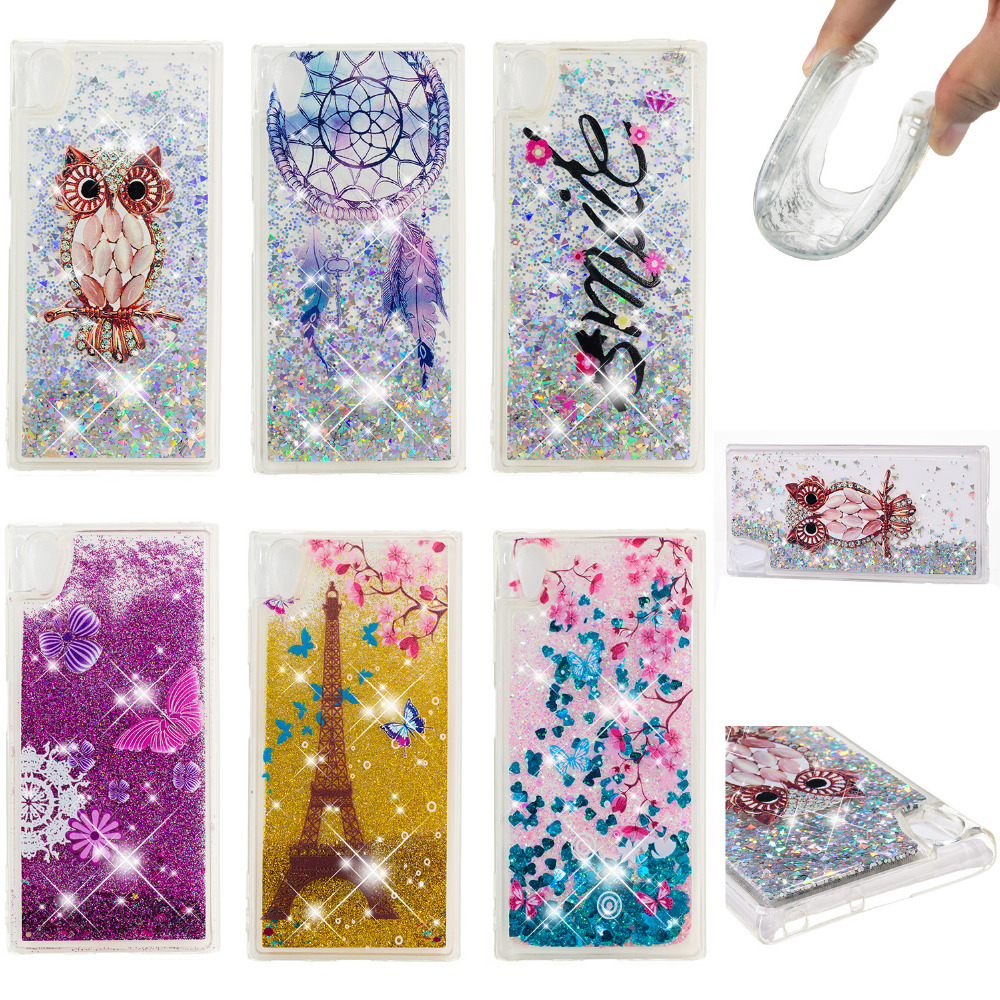 LUCKBUY For Sony Xperia XA1 Plus Case Paint Silicone Soft Back Cover Dual G3412