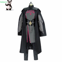 CosplayLove Fire Emblem: Three Houses Male Byleth Cosplay Costume With Shoes Cover Custom Made For Boys Men Christmas Halloween