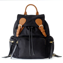 Fashion Nylon Backpack Women School Bag Waterproof Backpack Hasp Shoulder Bags High Capacity Backpacks For Teenage Girls