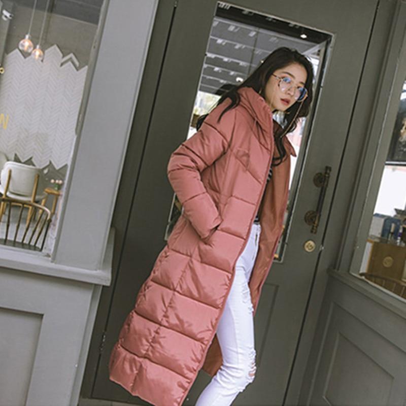 Black Coat Plus Parkas Korean red Winter Warm M Long 3xl Coat Colors Cotton bean 68222 Size Coat Coat Jacket Slim Hooded Neploe Fashion 4 New white 2019 Women xw1nIz8qZ