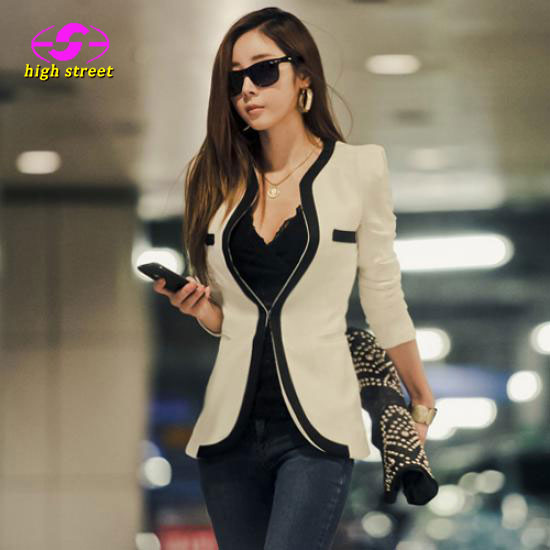 Blazer Women Patchwork Jackets Women Blazer Female Top Fashion Time-limited Blazer Suit Jacket Autumn Design Casual Spring