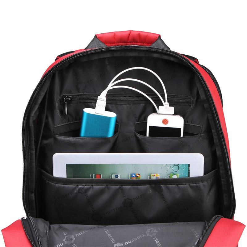 Waterproof Nylon Swiss Gear Backpack Laptop Bag Men's Travel Bags ...