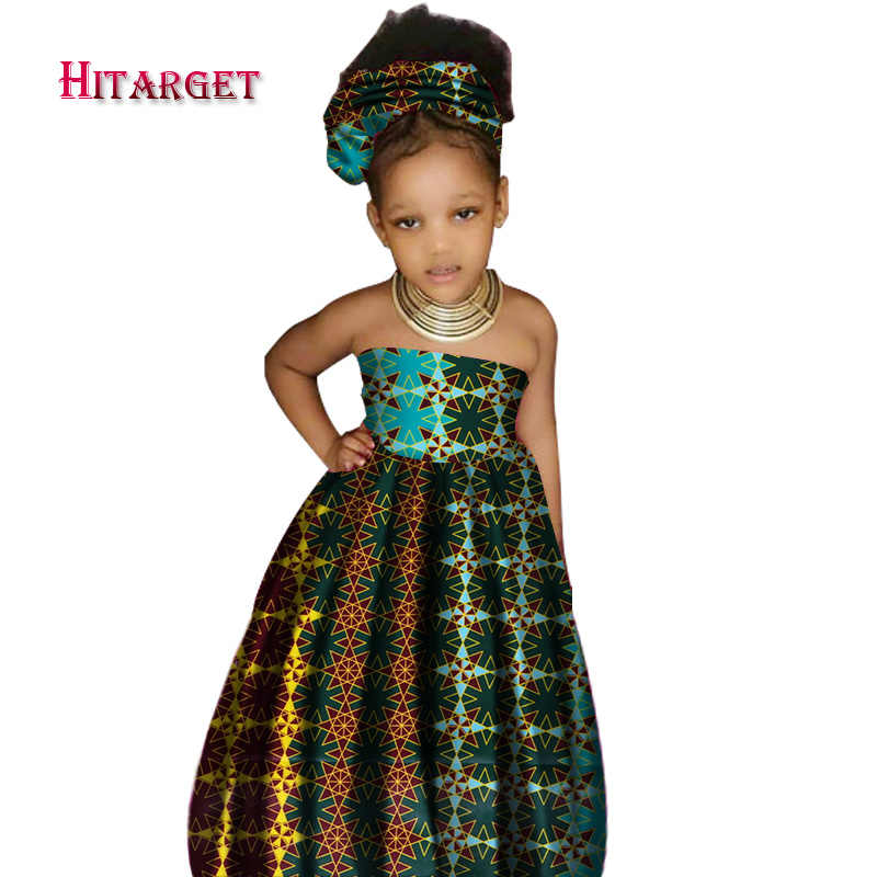 3d532be3023 ... African cute Kid s Clothing Girl s Dashiki Traditional 100%wax Cotton  Print Clothing Africa Print Natural ...