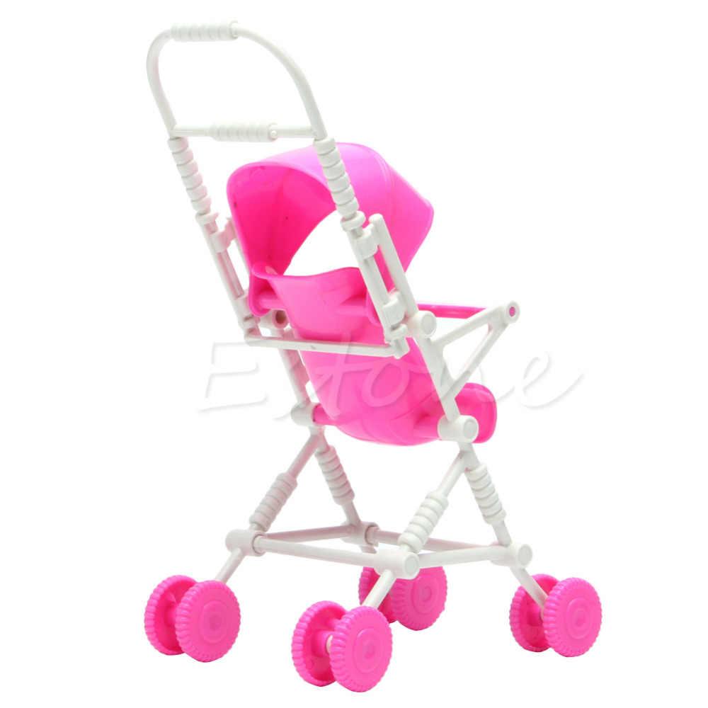 1 шт. Топ бренд в сборе детская прогулочная коляска детская мебель Игрушки для куклы розовый высокое качество