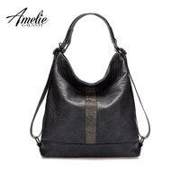 AMELIE GALANTI Handbags Woman Shoulder Bags Backpacks Novel Fashion Soft High Quality Fabrics PU