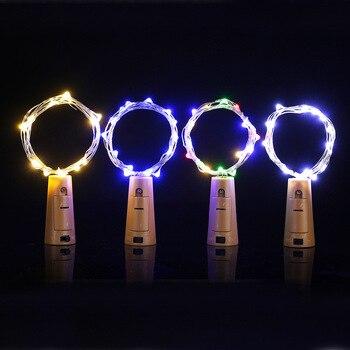 Luces Navideñas Para La Venta   Lámpara De Corcho Para Fiesta De Vacaciones Con Cadena De Luz Led De 1,4 M 15