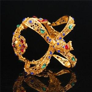 Image 3 - تاج الملك الملكي الباروكي للتزيين بالزفاف والتيجان للنساء تاج الملكة والتيجان مجوهرات الرأس