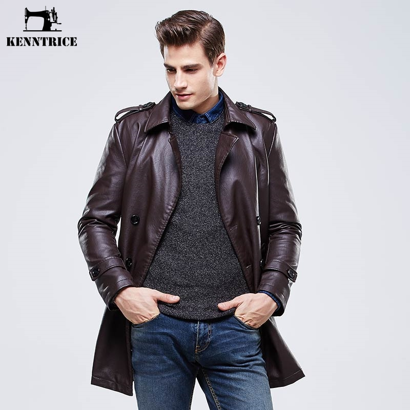 Online Get Cheap Long Leather Coat Men -Aliexpress.com | Alibaba Group