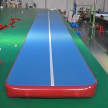 Надувные гимнастические матрасы Акробатический коврик для тренажерного