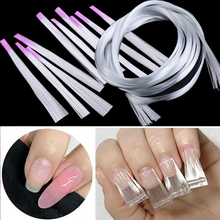 5.5cm/1m/2m/5m Fiberglass Nail Extension+1Pc Scraper Nail Silk Fiber Extension Nail Form Fiberglass Tips Manicure Salon Tool Set цены