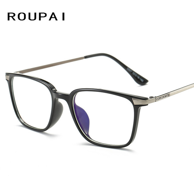 4f289b594e ROUPAI Computer Glasses Unisex Protection Anti blue light Reading eyeglasses  Frame Gaming goggles for Men Women 5007