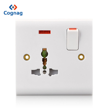 13a multi plug switched socket 3pin universal  multi-function sockets