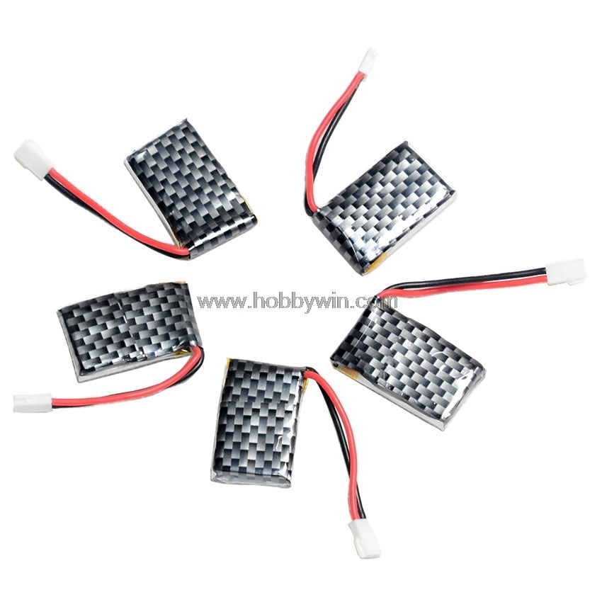 3.7V/<font><b>1S</b></font> <font><b>200mAh</b></font> 20C <font><b>LiPO</b></font> Battery with Walkera plug x5pcs for RC mini aircraft Lipolymer power image
