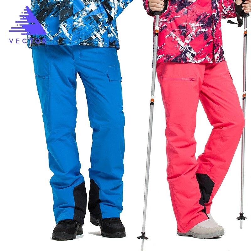 Pantalon de Ski Extra épais salopette Sport de neige chaud hommes pantalon d'hiver femmes combinaison de Ski Snowboard vêtements de plein air imperméable 2019 nouveau