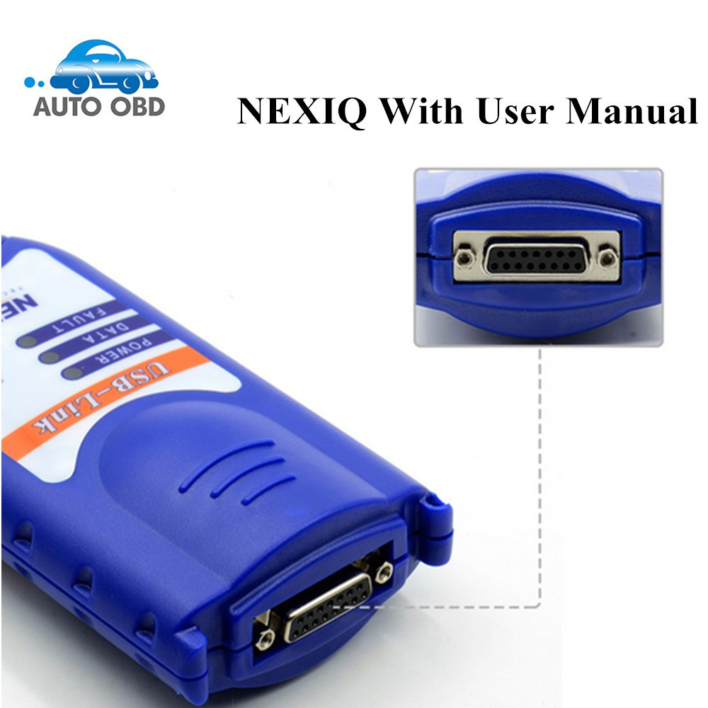 DHL Free 2017 NEWEST 4CD NEXIQ 125032 USB Link + Software Diesel Truck Diagnose NEXIQ USB Link with All Installers Nexiq ON SALE