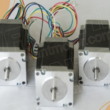 6-Leads 57BYGH633, 2 фазы WANTAI 3 шт. NEMA23 шаговый двигатель 270OZ-IN, 3.0A, 2 фазы CNC мельница и резка