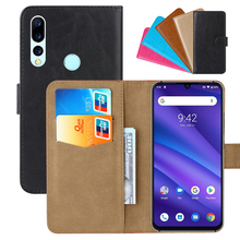 Luxury Wallet Case For UMIDIGI A5 Pro PU Leather Retro Flip Cover Magnetic Fashion Cases Strap