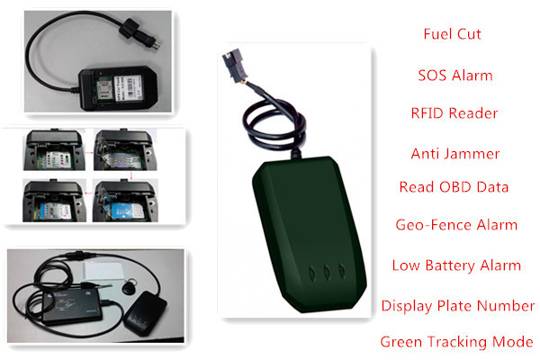 Car Gps Tracker With Fuel Cut Low Price Anti Jammer Mini Motorcycle Rfid Reader Obd Data U Blox 7 Free Shipping