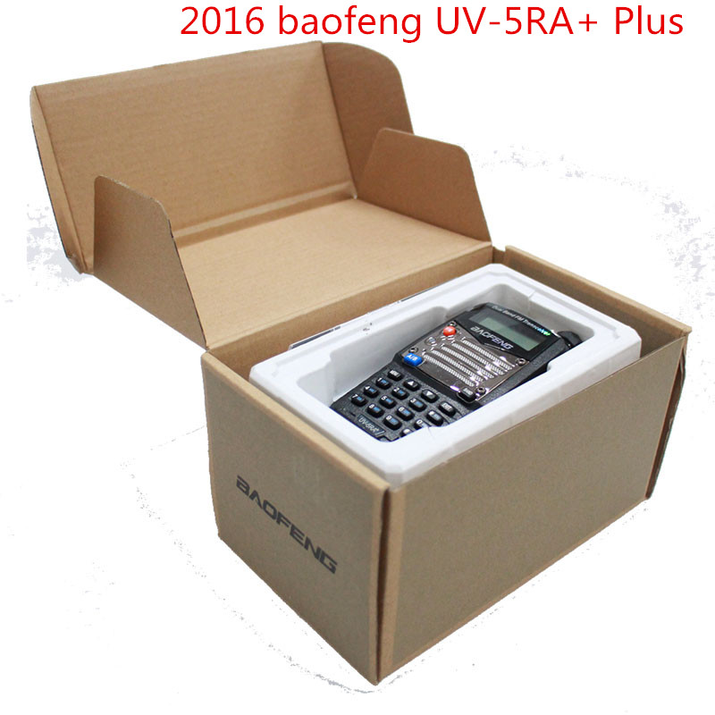 bilder für 2016 BaoFeng UV-5RA + Plus Walkie Talkie 136-174/400-520 Mhz VHF/UHF DUAL-BAND Handliche jagd Radio Receiver Mit Headfone