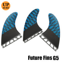 Honeycomb Surfboard Fin G5/G7 Blue Future Fins High Quality Carbon Fibre Surf Fins barbatanas Free Shipping prancha quilhas de
