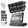 SANNCE 8CH 1080N HDMI DVR 8pcs 720P 1 0 MP IR Outdoor Weatherproof CCTV Camera Home