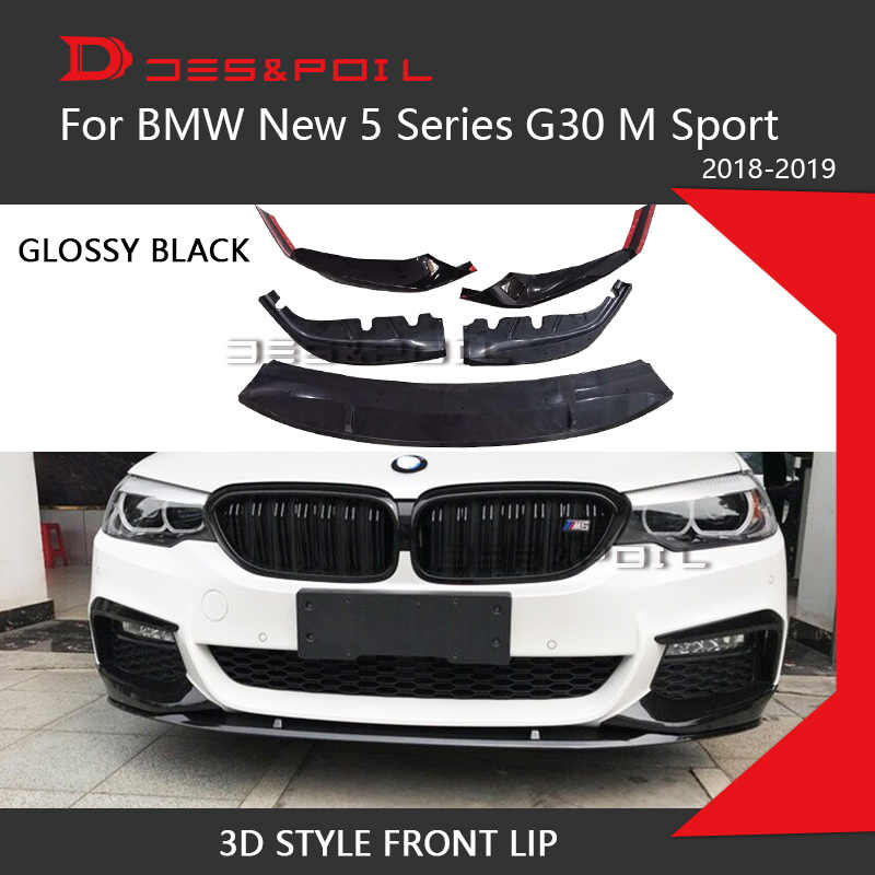 2018 2019 BMW M5 F90 M Performance Style Rear Bumper Lip