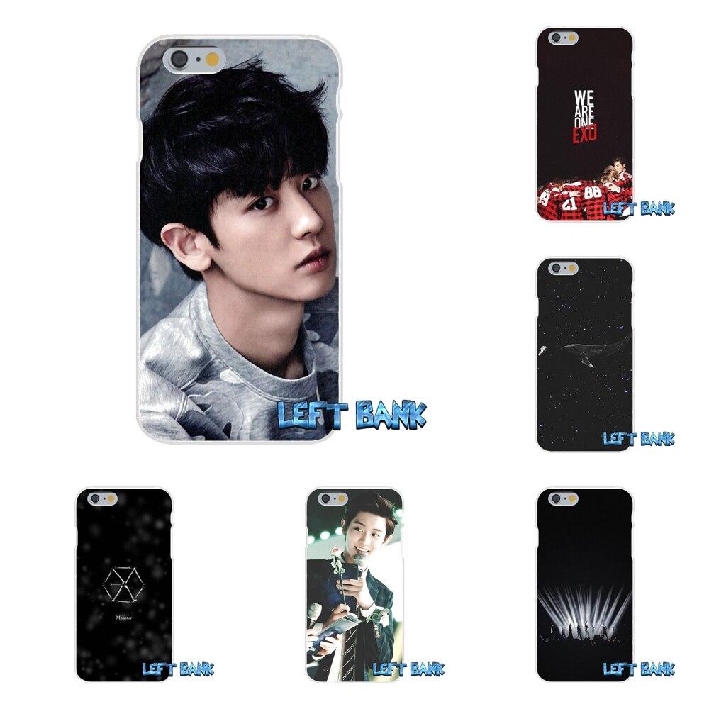 <font><b>EXO</b></font> южнокорейская группа логотип Тонкий силиконовый чехол для телефона для HTC One M7 M8 A9 M9 E9 плюс Desire 630 530 626 628 816 820