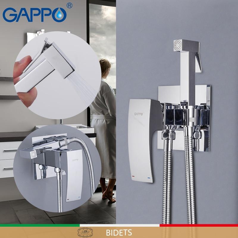 GAPPO Bidet Faucets brass toilet spray faucet chrome plating faucet bidet bathroom bidet shower toilet water