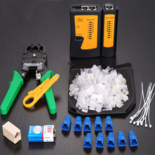 VONETS 10PCS Network Crimper Cable Tester Tracker Connector Wire Detector Wiring Stripper RJ45 RJ11 RJ 45 11 LAN Crimping Tool K