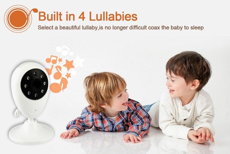 monitor do bebê alta resolução babá câmera