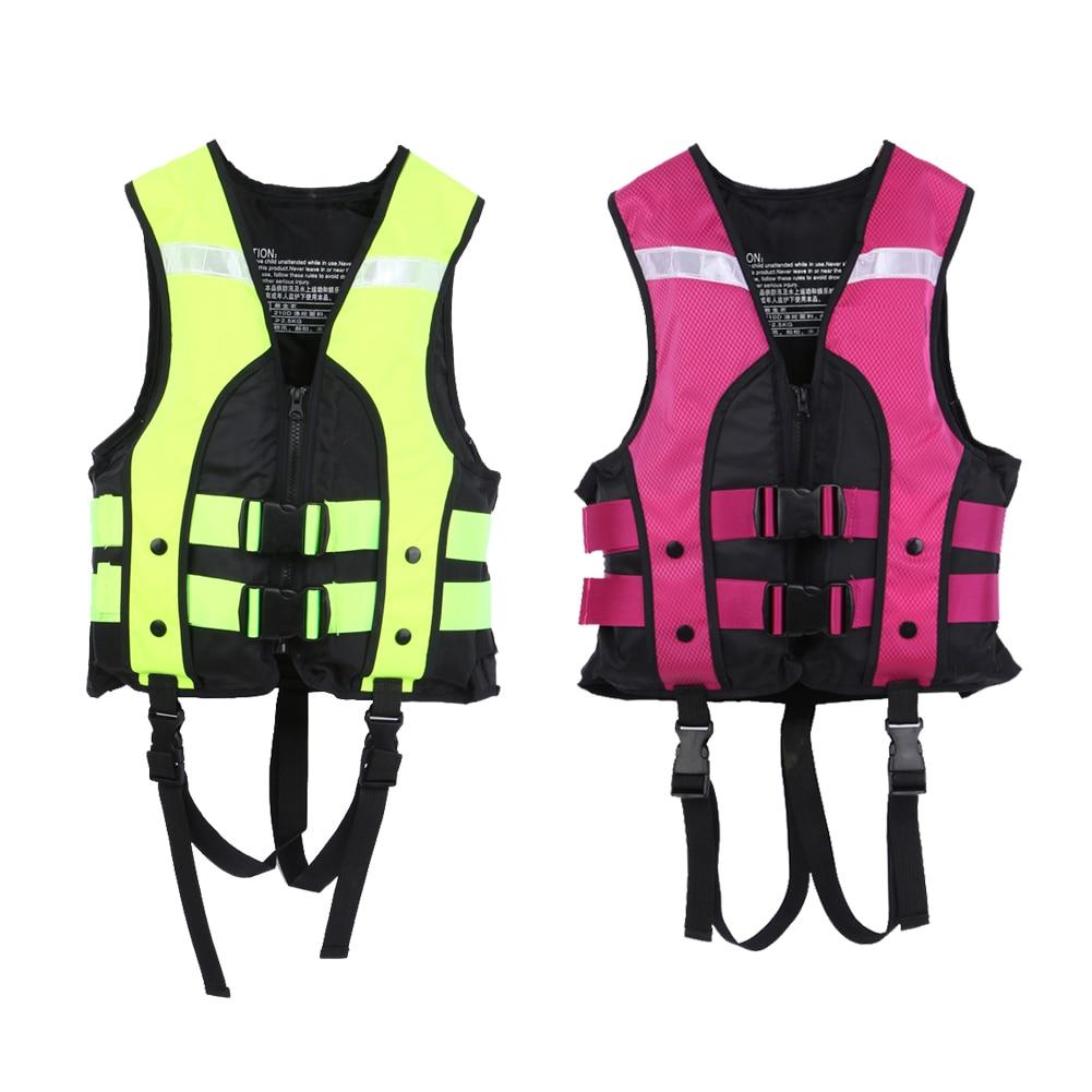 Kind Wassersport Schwimmweste Jacken Angeln Lebensrettende Weste Schwimmweste Für Bootfahren Surfen Schwimmen Treiben Hohe Qualität