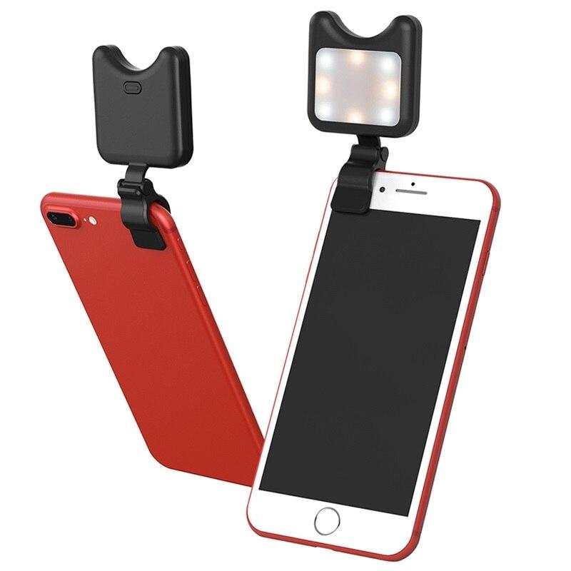 APEXEL Phone Camera lenses kit Led Fill light Lens Selfie Light Lens For iPhone 6 6S 7 8 Plus X Lentes for Samsung S8 smartphone