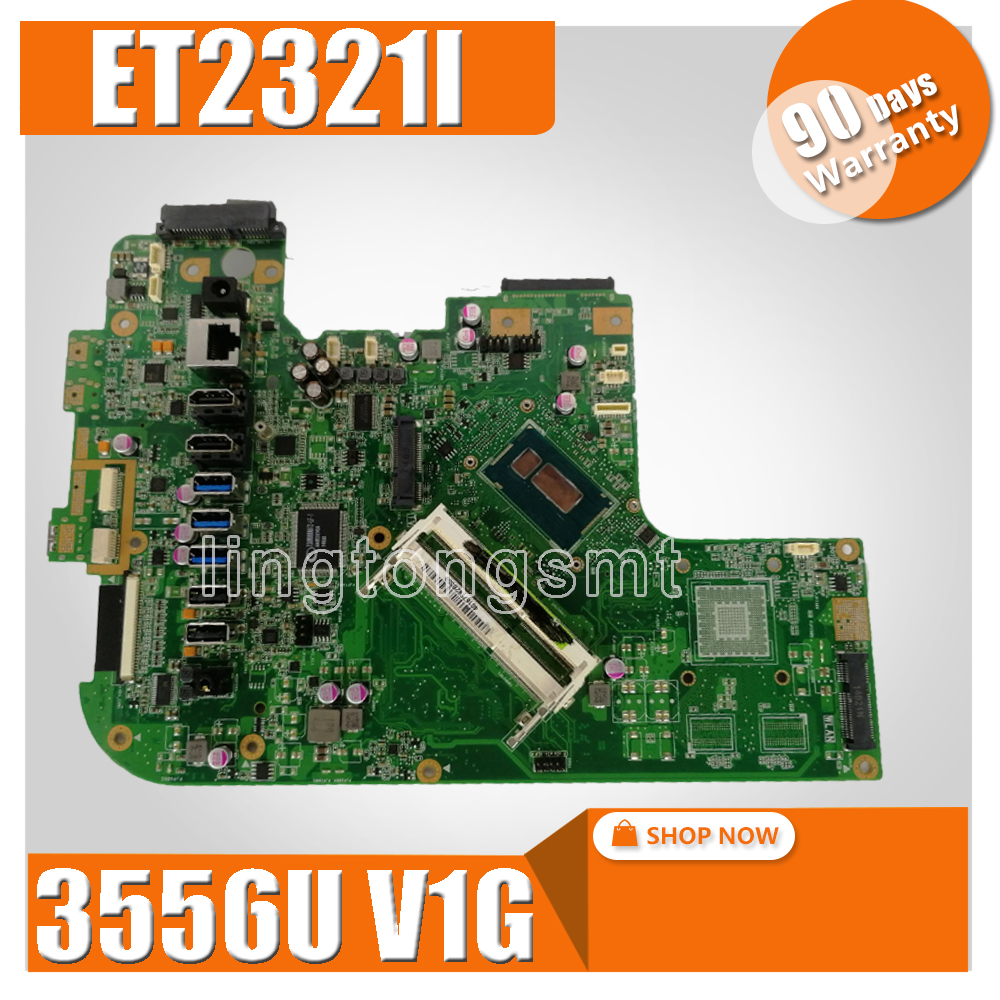 Original FOR ASUS ET2321T ET2321I Motherboard W/ Intel 3556U Processor REV1.3 MainboardOriginal FOR ASUS ET2321T ET2321I Motherboard W/ Intel 3556U Processor REV1.3 Mainboard