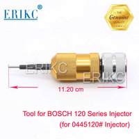 Common Rail Injector Nozzle Electromagnetic Valve Armature Lift Travel Measuring Seat Tool for BOSCH 120 Series