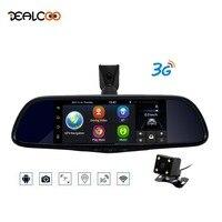 Dealcoo Car DVR Camera Mirror 3G Special Auto 7 Android 5.0 Dash Cam Full HD 1080P Video Recorder Bluetooth Auto Registrar DVRs