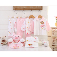 Newborn Baby Girl Clothes 100 Cotton Infant Clothing Set Brand Baby Boy Clothes Cotton Baby Born